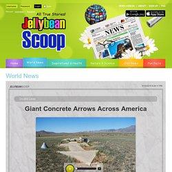 Giant Concrete Arrows Across America