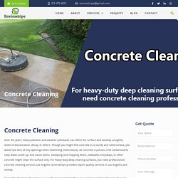 Concrete Washing – EnviroStripe