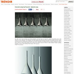 Concrete Lamps by Foscarini - Aplomb Lamp