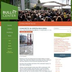 Concrete in the Bullitt Center