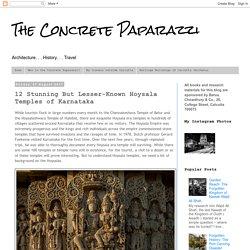 12 superbes mais moins connus temples Hoysala du Karnataka