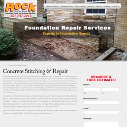 Concrete Stitching & Repair