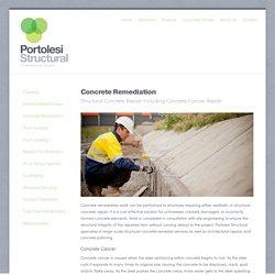 Concrete Remediation Services for Construction