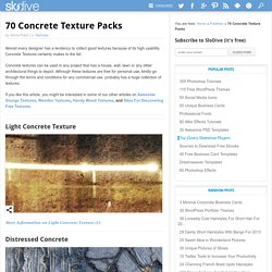 70 Concrete Texture Packs
