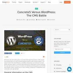 Concrete5 Versus Wordpress: The CMS Battle