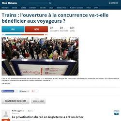 Trains : l'ouverture à la concurrence va-t-elle bénéficier aux voyageurs?