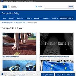 Qu'est-ce que la politique de concurrence? – Commission européenne