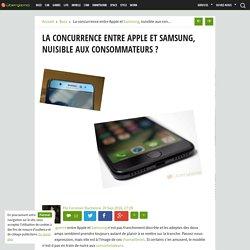 La concurrence entre Apple et Samsung, nuisible aux consommateurs ?