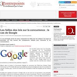 Les failles des lois sur la concurrence : le cas de Google