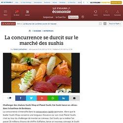 La concurrence se durcit sur le marché des sushis
