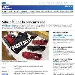 Articles de sport: Nike pâtit de la concurrence - News Économie: Entreprises