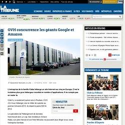OVH concurrence les géants Google et Amazon