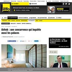 Airbnb : une concurrence qui inquiète aussi les palaces