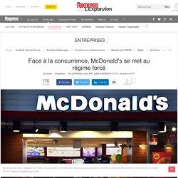 Face à la concurrence, McDonald's se met au régime forcé