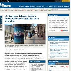 4G : Bouygues Telecom écrase la concurrence en couvrant 63% de la population