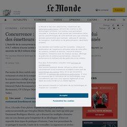 Concurrence: le cartel de la compote etcelui des émetteurs de titres restaurant sanctionnés