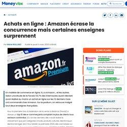 Achats en ligne: Amazon écrase la concurrence mais certaines enseignes surprennent