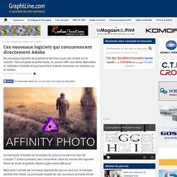 Ces nouveaux logiciels qui concurrencent directement Adobe