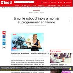 Jimu, le robot chinois qui veut concurrencer les Lego Mindstorms