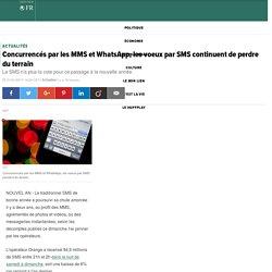 Concurrencés par les MMS et WhatsApp, les voeux par SMS continuent de perdre du terrain