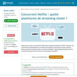 Concurrent Netflix : quelle plateforme de streaming choisir ?