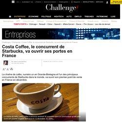 Costa Coffee, le concurrent de Starbucks, va ouvrir ses portes en France - 30 novembre 2012