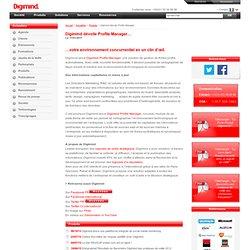 Veille concurrentielle: votre environnement concurrentiel en un clin d'œil avec Profile Manager