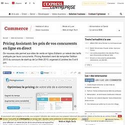 Pricing Assistant: les prix de vos concurrents en ligne en direct