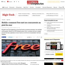 Mobile: comment Free met ses concurrents au pied du mur