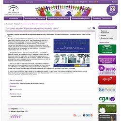 """Concurso escolar """"Descubre el patrimonio de tu barrio"""" - Noticias - Averroes"""