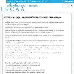 Concurso Fomento - Opera Prima