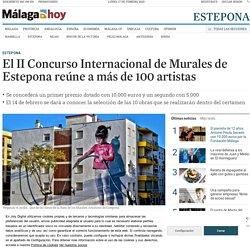 El II Concurso Internacional de Murales de Estepona reúne a más de 100 artistas