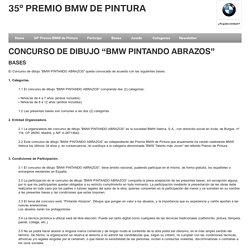 """BASES - CONCURSO DE DIBUJO """"BMW PINTANDO ABRAZOS"""""""
