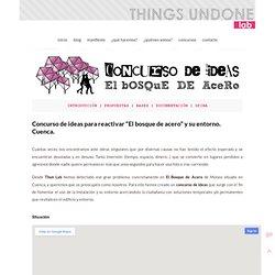 """Concurso de ideas para reactivar """"El bosque de acero"""" y su entorno. Cuenca."""