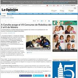 A Coruña acoge el VII Concurso de Robótica del 2 al 6 de febrero