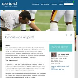 concussions in pro sports While sport-related concussion is an inherent risk in all contact and collision sports,  in evaluating the impact of concussions and repetitive head impact,.
