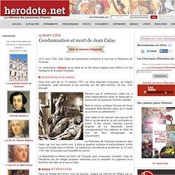 9 mars 1762 : condamnation de Jean Calas à Toulouse - Hérodote