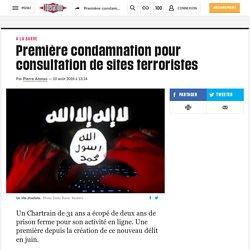 Première condamnation pour consultation de sites terroristes