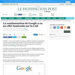 La condamnation de Google a eu un effet inattendu sur la Cnil