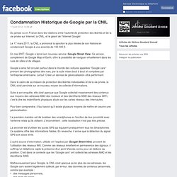 Condamnation Historique de Google par la CNIL