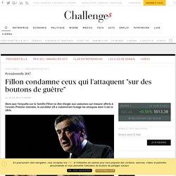 """Fillon condamne ceux qui l'attaquent """"sur des boutons de guêtre"""" - Challenges.fr"""