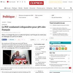 Le PCF condamné à disparaître pour 58% des Français