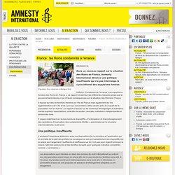 France : les Roms condamnés à l'errance