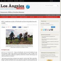 EEUU condiciona ayuda a El Salvador en favor de productoras de semilla