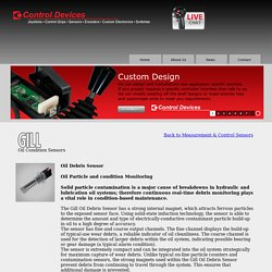 Buy GILL Oil Condition Sensors Online - Controldevices.Net