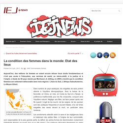 La condition des femmes dans le monde: Etat des lieux - IEJ NEWS