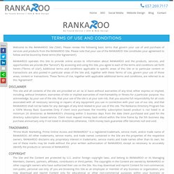 Internet Marketing Company - Rankaroo