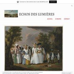 La « condition noire » dans la France métropolitaine du XVIIIe siècle – Echos des Lumières