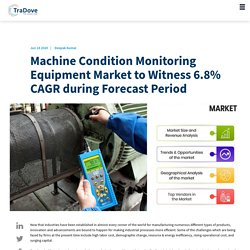 Machine Condition Monitoring Equipment Market to Witness 6.8 CAGR during Forecast Period