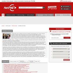 Condition de travail en entreprise - NetPME